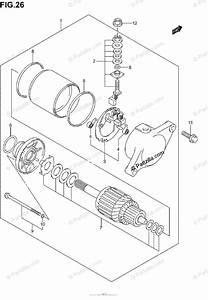 Suzuki Atv 2004 Oem Parts Diagram For Starting Motor