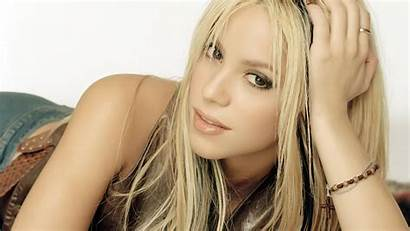 Shakira Eyes Highlights Brown Abstract Blondes Celebrity