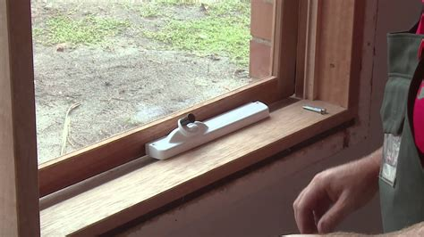 install window awning winders diy  bunnings youtube