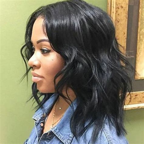 The Best Hairstyles For Black by Shoulder Length Weave Hairstyles For Black 50 Best