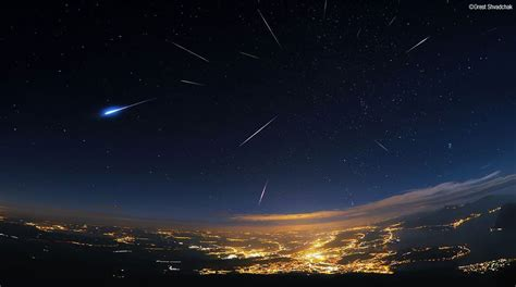 Perseid Meteorite Shower by Viewing The Perseid Meteor Shower In 2018 American