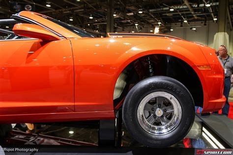 Sema 2018 Inferno Orange Chevrolet Copo Camaro Convertible
