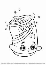 Soda Coloring Shopkins Draw Drawing Pops Step Pop Printable Shopkin Drawings Drawingtutorials101 Bottle Template Kleurplaten Head Learn Tutorials Coloriage Colouring sketch template