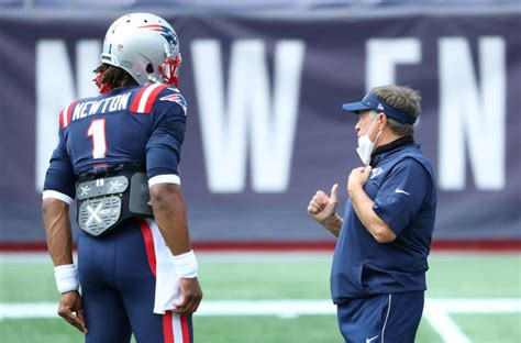 Patriots: Cam Newton reveals nickname for Bill Belichick ...