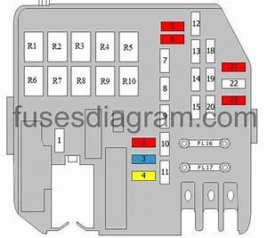 2010 Hyundai Elantra Fuse Box Diagram
