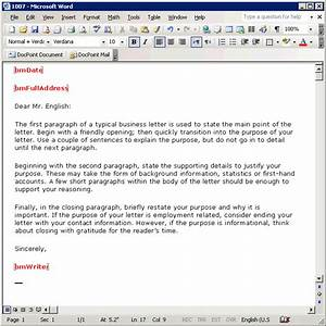 business letter email template the best letter sample With how to write a business email template