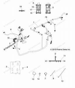 Polaris Side By Side 2012 Oem Parts Diagram For Electrical  Wire Harnesses