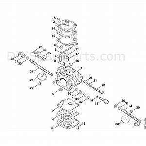 Stihl Ts 400 Disc Cutter  Ts400  Parts Diagram  G