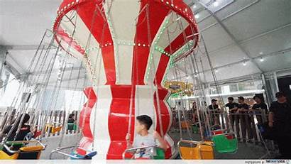 Carnival Vivocity Giant Swing Rides Bouncy Perfect