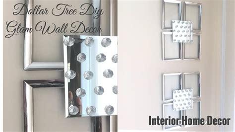 dollar tree diy glam wall decor interior home decor