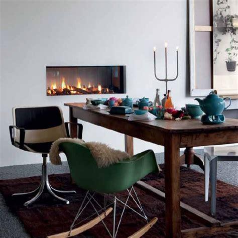 lineafire fireplaces horizontal  wood  gas