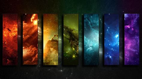 wallpaper space stars collage colorful