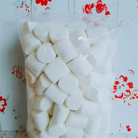 marshmallow putih besar bogor coklat snack