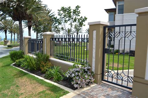 wrought iron fence designs wrought iron driveway gates designs design valiet org contemporary clipgoo