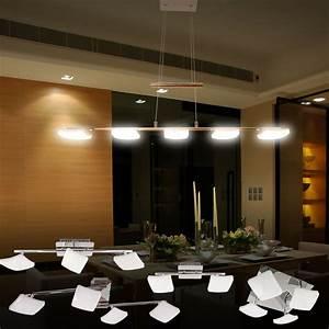Led Deckenleuchte Wohnzimmer : led deckenleuchte pendelleuchte designleuchte modern deckenleuchten wohnzimmer ebay ~ Yasmunasinghe.com Haus und Dekorationen