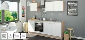 Küchenzeile 2 70 M Mit Elektrogeräten : k chenzeilen von uno m bel h ffner ~ Bigdaddyawards.com Haus und Dekorationen
