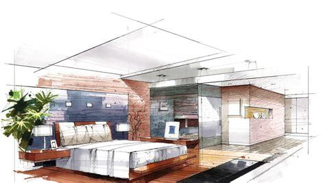 Excellent Interior Design Bedroom Sketches 26 In Home