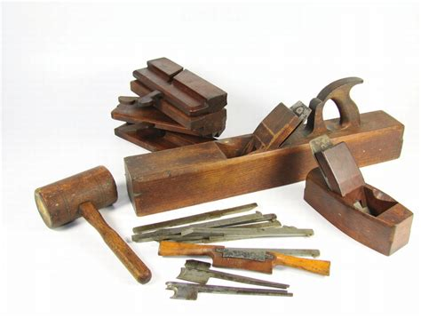 detailed collection    woodworking tools