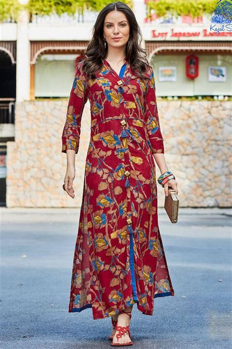 rayon printed unique kurtis  girls buy latest kurti