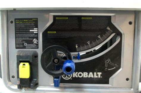 That also gives me the opportunity to try it out, to see if it can be improved in any way. Kobalt Power equipment KT1015