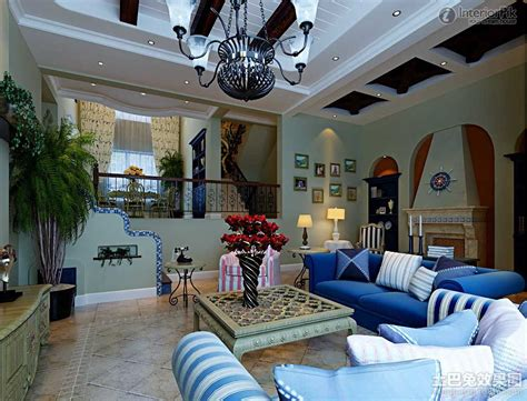 Mediterranean Style : Mediterranean Living Room Design Of European Style [photos
