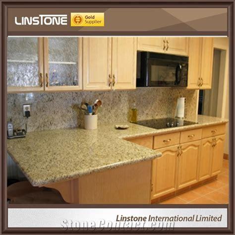 cheap price giallo ornamental granite kitchen countertop
