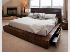 Simple Wooden Platform Beds To Decorate A Room FIF Blog
