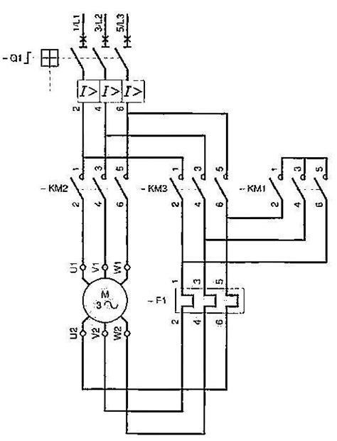 wye start delta run wiring diagram wye delta motor starter