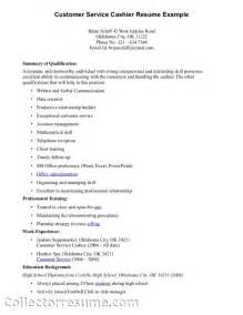 exle customer service resume excellent customer service skills resume sle recentresumes