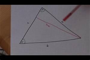 Höhe Vom Trapez Berechnen : video wie berechnet man die h he eines dreiecks so geht 39 s ~ Themetempest.com Abrechnung