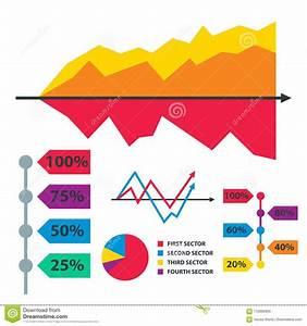 Diagram Chart Graph Elements Vector Business Infographic