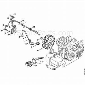 Stihl 029 Chainsaw  029  Parts Diagram  Ignition