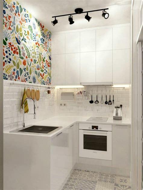 Einrichtung Kleiner Kuechekleine Kueche In Weiss 2 by 1001 Ideen Zum Thema Einzimmerwohnung Einrichten