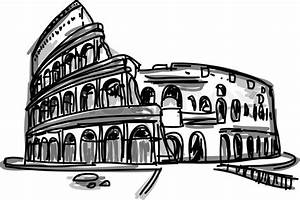 Vector World famous landmark collection : Colosseum in ...