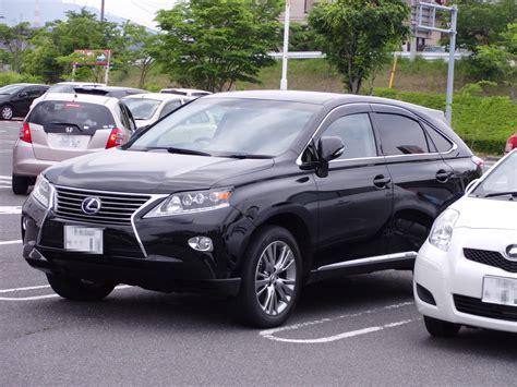 2012 Lexus Rx450h by File Lexus Rx450h After 2012 Mc Jpg