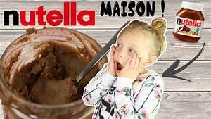 Nutella Maison Recette : recette nutella maison youtube ~ Nature-et-papiers.com Idées de Décoration