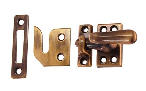 classic solid brass casement window latch regular size hardwick sons