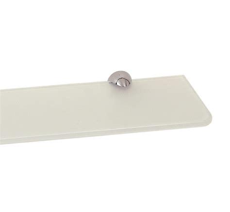 mensola vetro bagno mensola da parete in cristallo 40 cm per bagno
