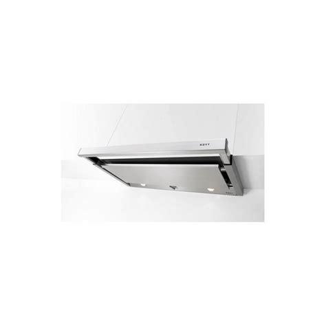 hotte tiroir novy 60 cm 470 m3 h inox