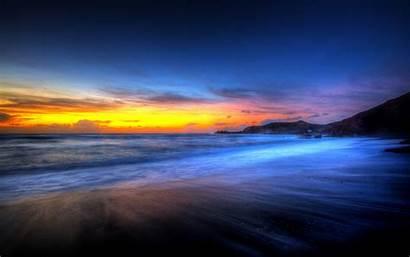 Beach Sunset Sunsets Widescreen
