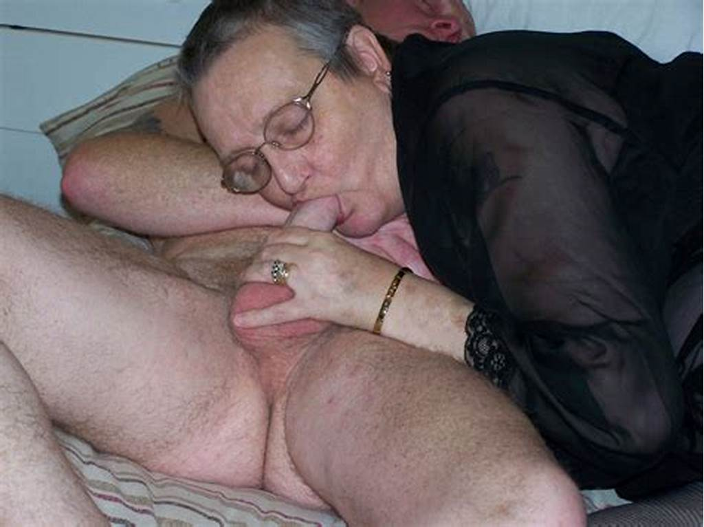 #Fat #Granny #With #Glasses #In #Action