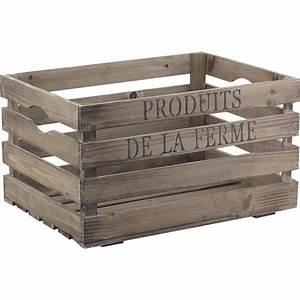 Caisse En Bois : caisse en bois cra3750 aubry gaspard ~ Nature-et-papiers.com Idées de Décoration