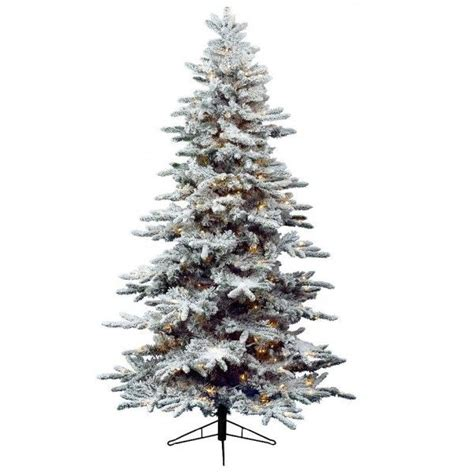 künstlicher weihnachtsbaum mit beleuchtung k 252 nstlicher weihnachtsbaum mit beleuchtung antartic h240 cm gr 252 n verschneit kunsttannen deko