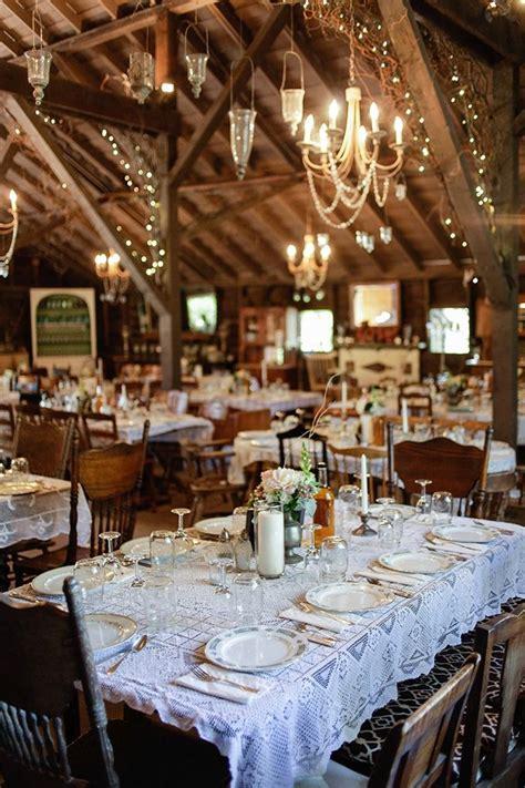 vintage barn wedding wedding table settings wedding
