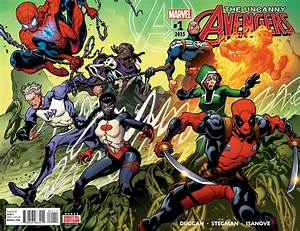 First Look: UNCANNY AVENGERS #1--Now With More Deadpool ...
