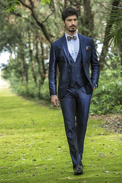 Trova una vasta selezione di abito cerimonia uomo a prezzi vantaggiosi su ebay. Abito da cerimonia uomo in shantung blu   Stile uomo ...
