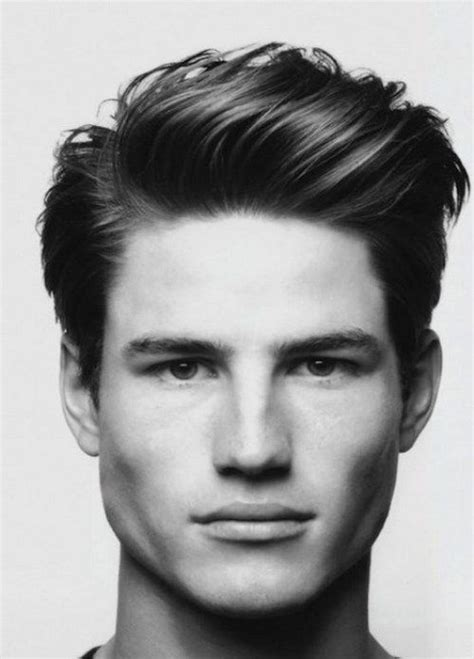 stylish and casual modern pompadour mens hairstyles short