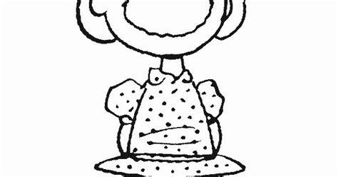 Peanuts Christmas Coloring Page
