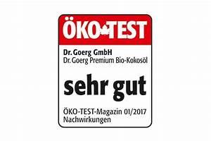 Wandfarbe ökotest Sehr Gut : unsere kokosprodukte sind testsieger dr goerg ~ A.2002-acura-tl-radio.info Haus und Dekorationen