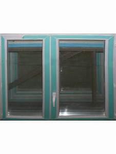 Largeur Fenetre Double Battant : fenetre coulissante alu blanc double vitrage 2 vantaux ~ Edinachiropracticcenter.com Idées de Décoration